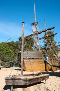 Diana Memorial Playground - Pirate Ship