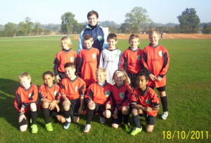 Update from our sponsored youth football team