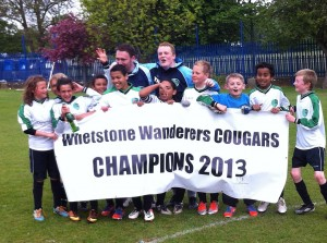 Whetsone Wanderers Cougars - champions
