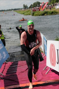 Anthony Quin completes 3rd JLL Property Triathlon