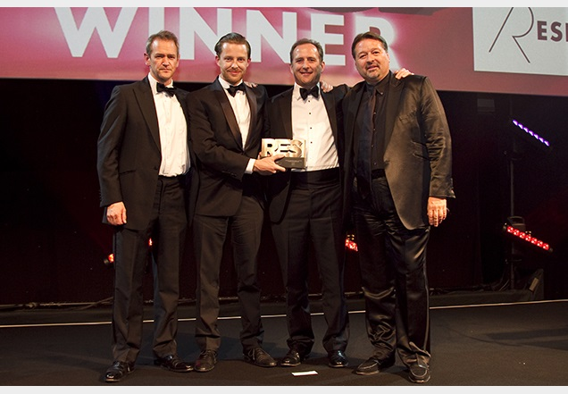 Ritchie also presented the award for Residential Consultancy Practice of the Year which was awarded to Savills.