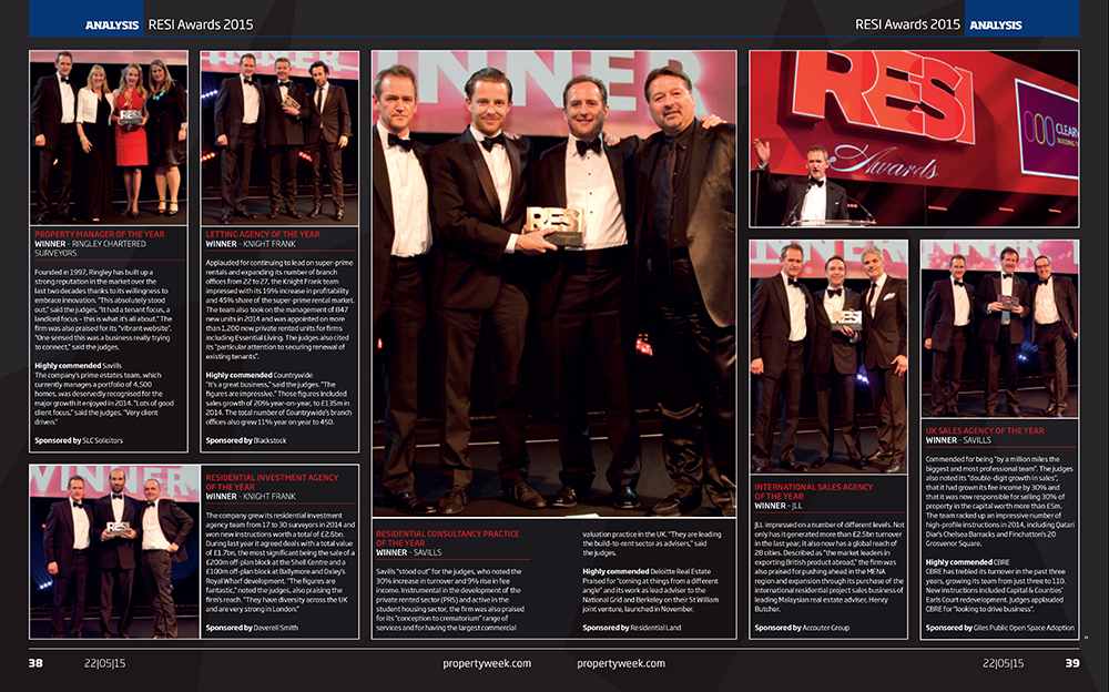 RESI Awards 2015