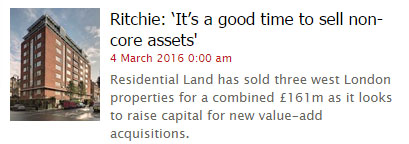 Residential Land - Property Week