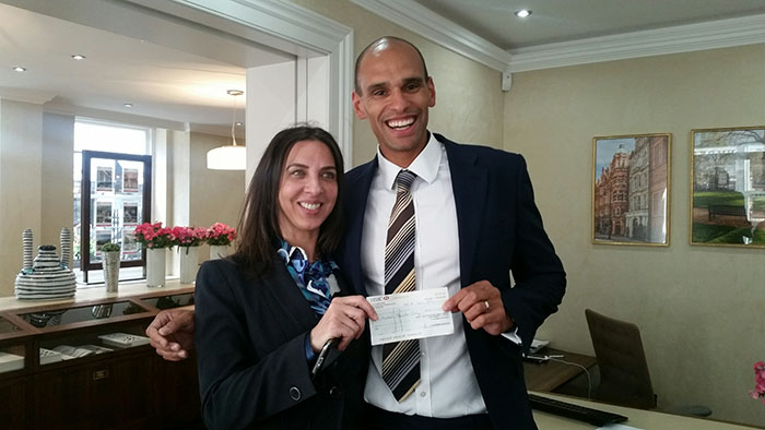 A big congratulations to Spencer from Pastor Real Estate who won the live prize draw!