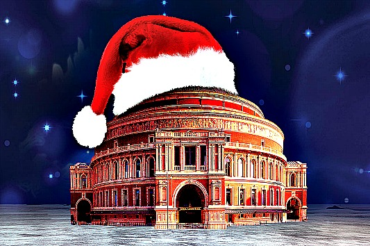 Take the kids to the Royal Albert Hall for one on one time with Santa
