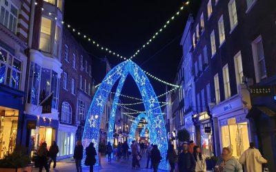 A festive season in Mayfair