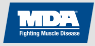 Muscular Distrophy Associationg logo